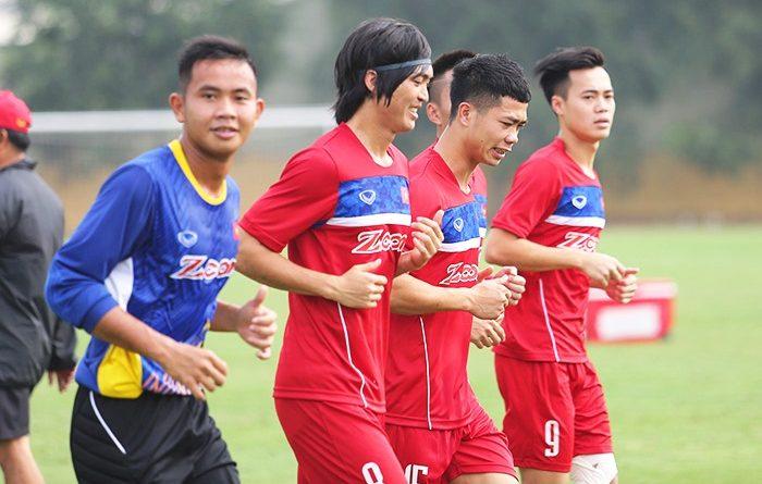 Công Phượng ,Tuấn Anh thử sức với 5 đội bóng đến từ Hàn Quốc trước thềm Seagames 29