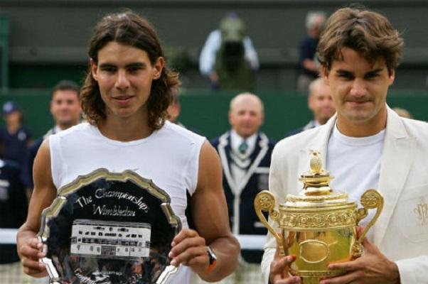Federer và Nadal đã từng 3 lần gặp nhau ở Wimbledon
