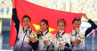 Điền kinh Việt Nam đã tạo được sự cảm phục lớn ở SEA Games