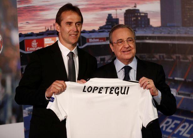 Lopetegui nói gì khi ra mắt Real Madrid