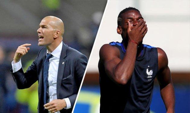 Zidane có những cách làm việc độc đáo để khiến phòng thay đồ yên ả