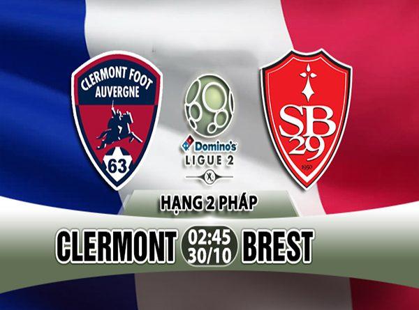 Dự đoán bóng đá Clermont vs Brest