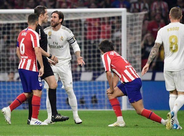 Simeone yêu cầu phạt nặng Ramos vì xúc phạm mẹ mình