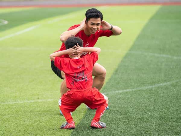 Công Phượng - chân sút tài năng của bóng đá Việt Nam