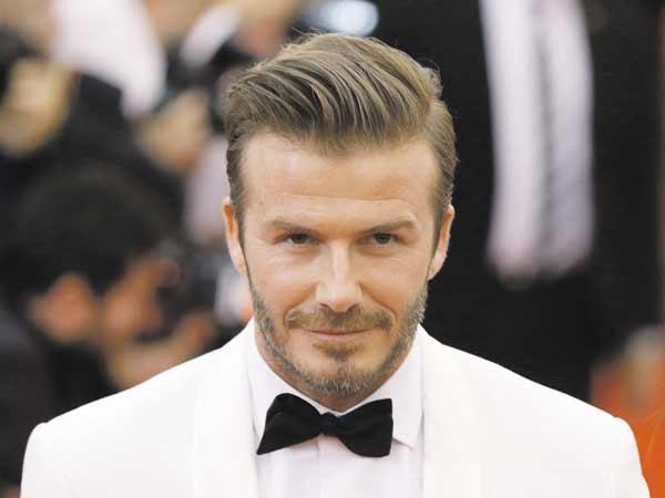Hình ảnh của David Beckham khi tham gia sự kiện