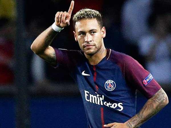 Hình ảnh Neymar trong trận đấu