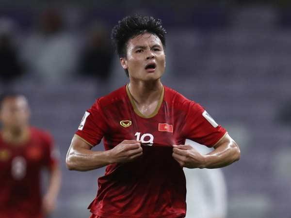 Nguyễn Quang Hải - tiền vệ xuất sắc nhất của đội tuyển Việt Nam