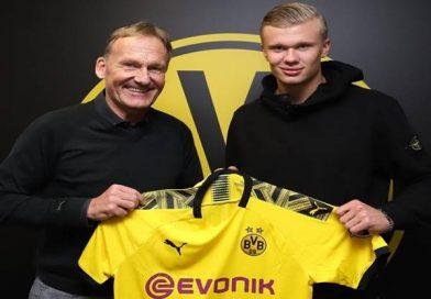 Borussia Dortmund chiêu mộ thành công ngôi sao trẻ Erling Haaland