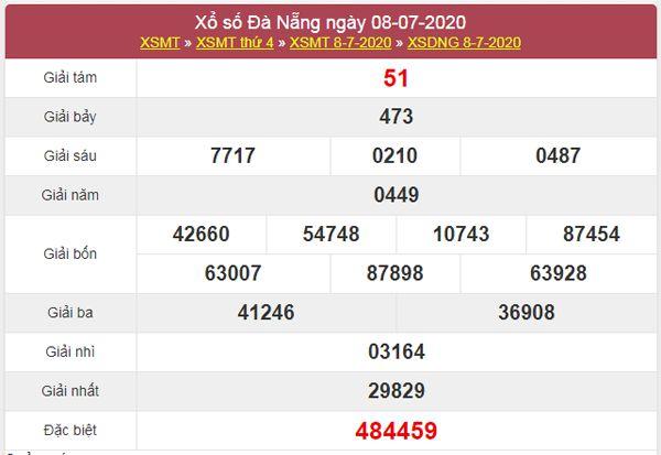 Dự đoán XSDNG 11/7/2020 chốt KQXS Đà Nẵng thứ 7