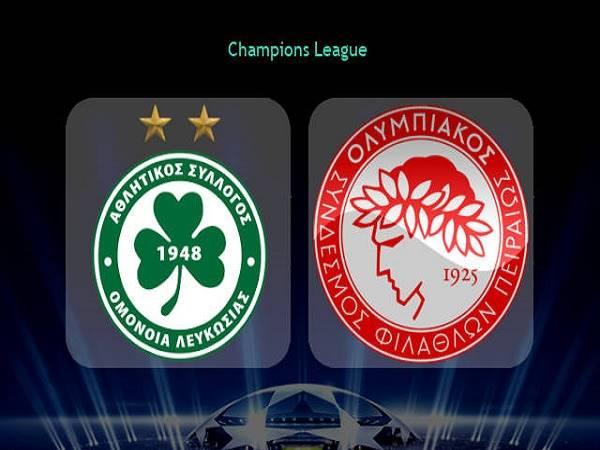 Nhận định Omonia Nicosia vs Olympiacos 02h00, 30/09 - Cúp C1 Châu Âu