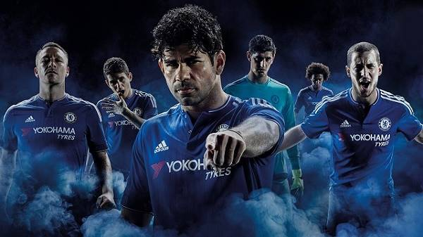 Hình ảnh đội bóng Chelsea với các cầu thủ tài năng.