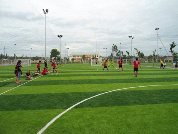 Sân bóng đá quận Bình Thạnh nổi tiếng, nhiều người biết đến, sân C1.