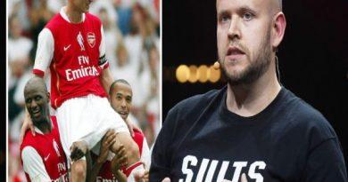 Chuyển nhượng 29/4: Nhà sáng lập Spotify tự tin mua lại Arsenal